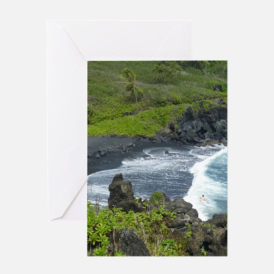 BLKSds661x986 Greeting Card