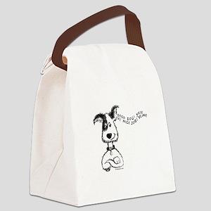 PraiseYourDog Canvas Lunch Bag