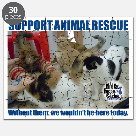 Support Animal Rescue Puzzle