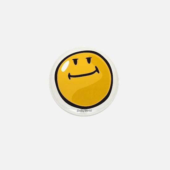pride smiley Mini Button