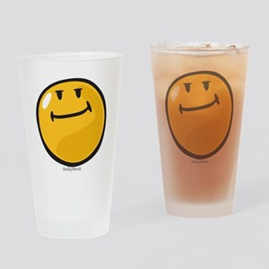 pride smiley Drinking Glass