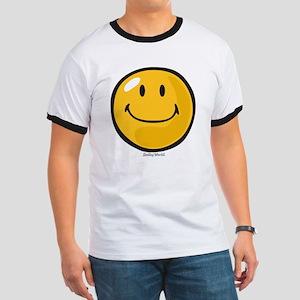 smug smiley Ringer T