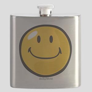 smug smiley Flask
