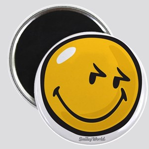 sneakiness smiley Magnet