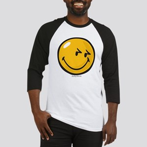 sneakiness smiley Baseball Jersey