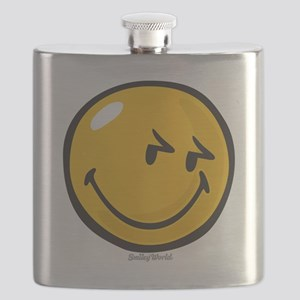 sneakiness smiley Flask