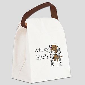 wineydachs Canvas Lunch Bag