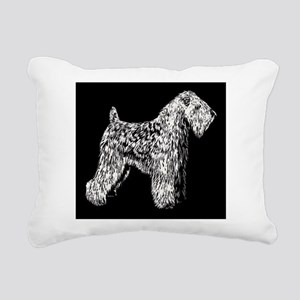 SCWTnegative Rectangular Canvas Pillow