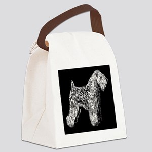 SCWTnegative Canvas Lunch Bag