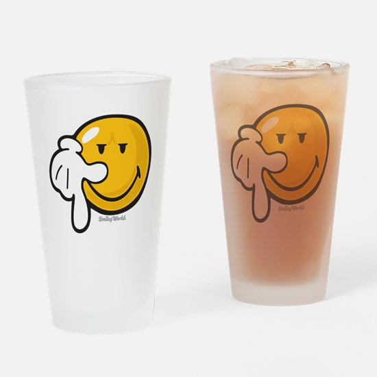 resolve smiley Drinking Glass