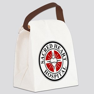 sacred heart logo Canvas Lunch Bag