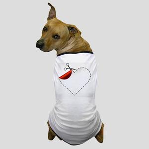 vector illustration of Scissors. Vecto Dog T-Shirt