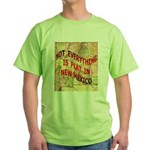 Flat New Mexico Green T-Shirt