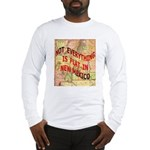 Flat New Mexico Long Sleeve T-Shirt