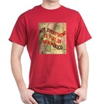 Flat New Mexico Dark T-Shirt