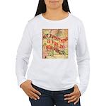 Flat New Mexico Women's Long Sleeve T-Shirt