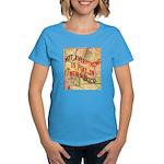 Flat New Mexico Women's Dark T-Shirt