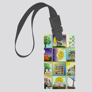 12 Tribes of Israel Large Luggage Tag