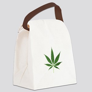 Eco Friendly Lets Go Greed Canvas Lunch Bag