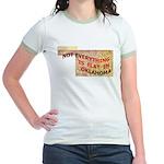 Flat Oklahoma Jr. Ringer T-Shirt