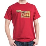 Flat Oklahoma Dark T-Shirt