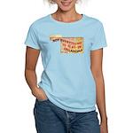 Flat Oklahoma Women's Light T-Shirt