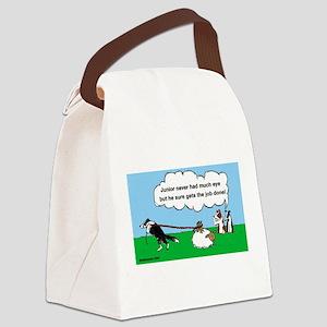 Juniorcartoon Canvas Lunch Bag