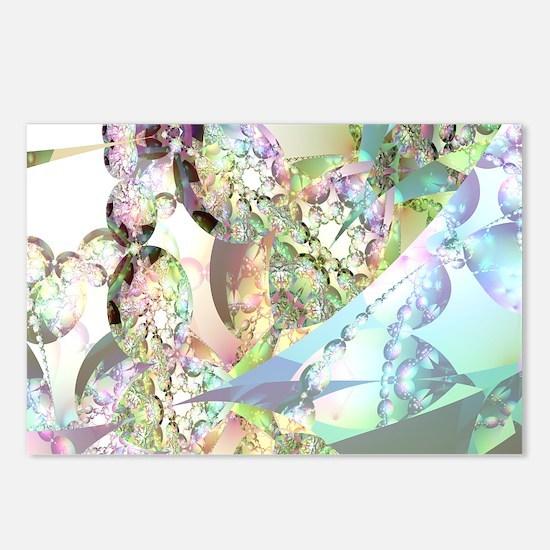 Wings of Angels Amethyst  Postcards (Package of 8)