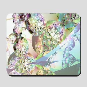 Wings of Angels Amethyst Crystals Mousepad