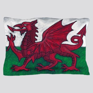 Wales Flag Pillow Case