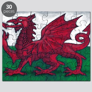 Wales Flag Puzzle
