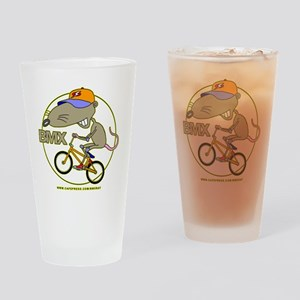 BMX-RAT Drinking Glass