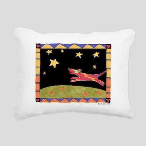 Stardog Rectangular Canvas Pillow