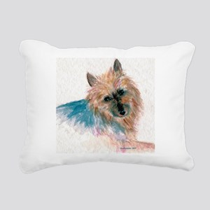 AustralianTerrier3 Rectangular Canvas Pillow