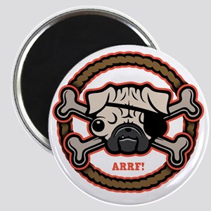 pug-pirate-rope-21213-T Magnet