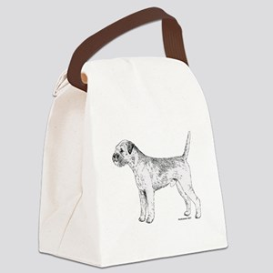 Border_Terrier Canvas Lunch Bag