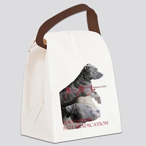 apbt pit bull anti bsl Canvas Lunch Bag