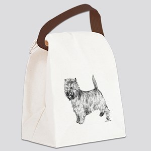 Cairn_Terrier 2 Canvas Lunch Bag