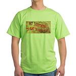 Flat Nebraska Green T-Shirt