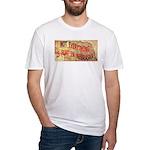 Flat Nebraska Fitted T-Shirt