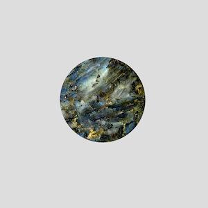 4x4 Square Labradorite Mini Button