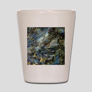4x4 Square Labradorite Shot Glass