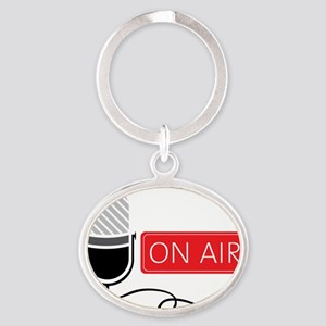 On Air Oval Keychain