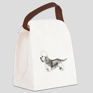 DandieDinmont Canvas Lunch Bag