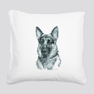 300Yankee Square Canvas Pillow