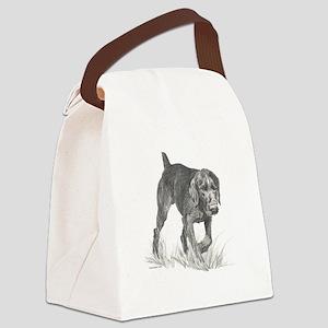 GermanWireHair Canvas Lunch Bag