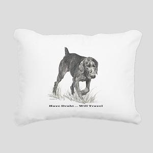 3-GWPlettering Rectangular Canvas Pillow