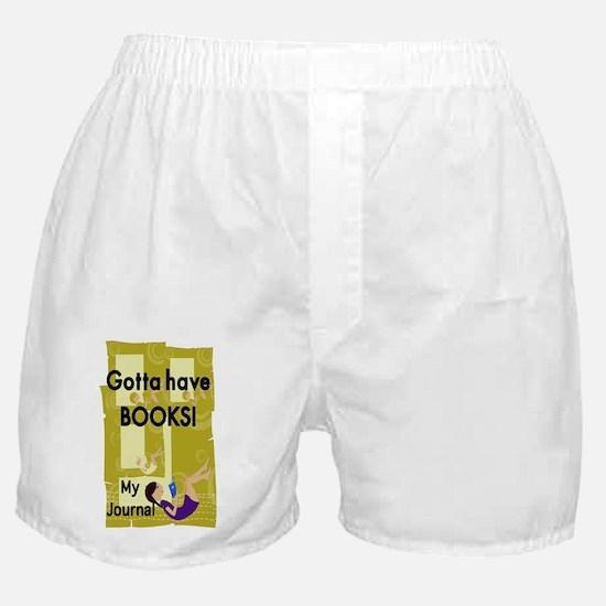 Gotta have Books Boxer Shorts