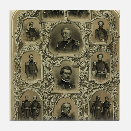 Our Generals Tile Coaster