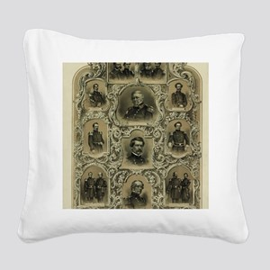 Our Generals Square Canvas Pillow